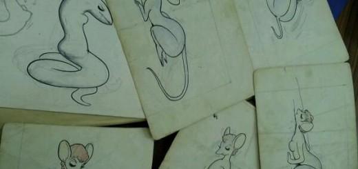 手塚治虫はやっぱりケモナー?自筆のエッチなイラストが大量発見