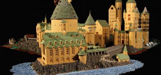 完成度MAX!?  約40万個ものレゴで作ったハリ・ポタの魔法学校