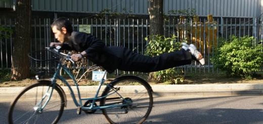 検証!アクロバティックな自転車の通学方法