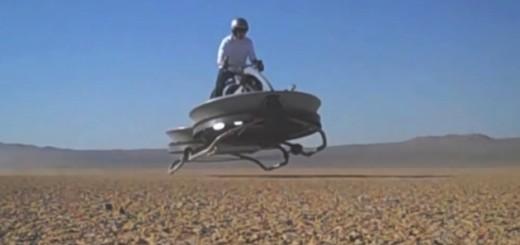近未来がきた!SF映画に登場しそうなエアバイクが予約開始