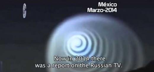 【ついに使徒襲来!?】メキシコ上空に謎の光の渦