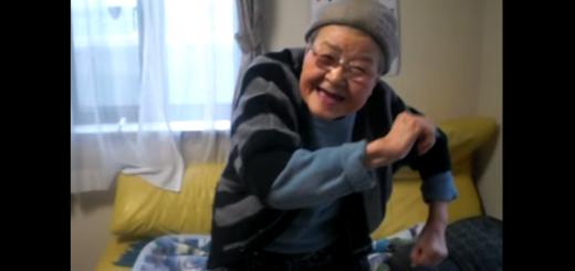 お笑い芸人を目指すシズおばあちゃんの、鉄板ギャグ動画集