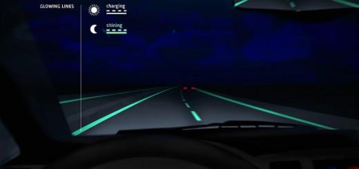これぞSFの世界!夜になったら光る道路を、オランダで開発