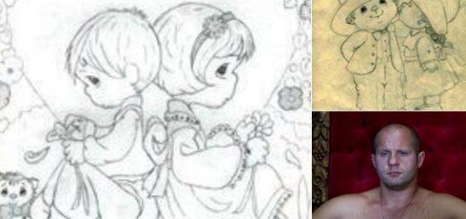 格闘家ヒョードルの描くイラストが可愛い!水森亜土テイストでギャップありすぎ