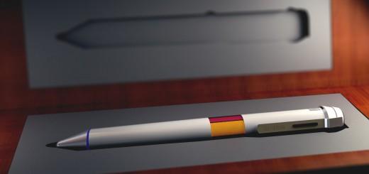 物体の色を読み取る魔法のペン誕生!これでパンパンのペンケースにサヨナラ