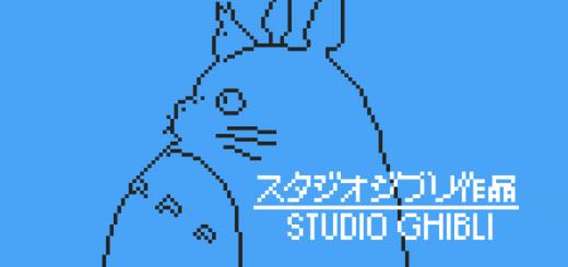 【ファミコンやりてー】海外ファンが作ったドット絵ジブリがカッコイイ!