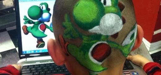 どんな絵も頭に描いてしまうヘアメイクアーティスト、Rob Ferrel