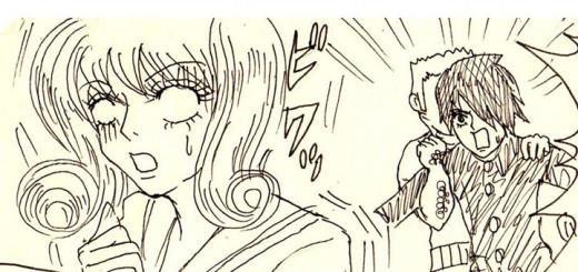 中2主婦ドロ子のらくがきマンガ「恋して!アイ・ラヴ・ユー」vol.9