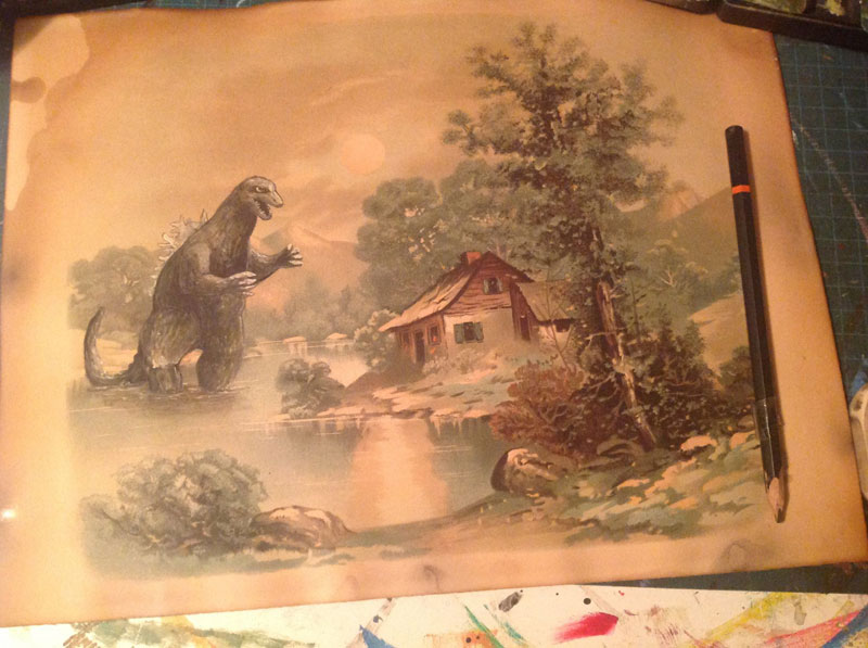 adding-characters-to-thrift-store-paintings-by-david-irvine-gnarled-branch-31