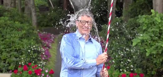 ビル・ゲイツ、ザッカーバーグに頼まれバケツ水を被る!著名人が続々と水を被る理由とは!?