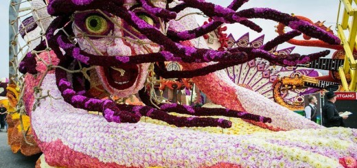 【世界最大の花祭り】東北もびっくりのダリア山車祭りが超迫力!