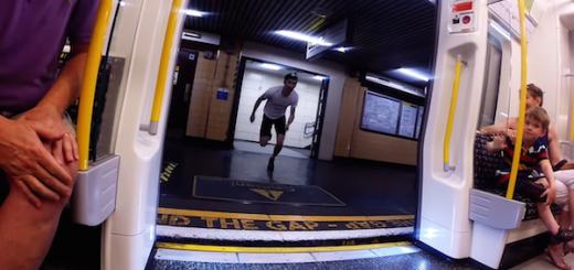 【人類vs電車】降りた電車が次の駅に到着するまでに、ダッシュで駆けつける男