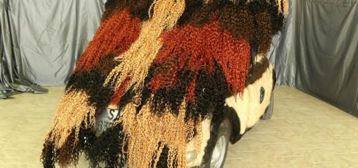 【理解不能】「世界で一番髪の毛だらけの車」がギネス認定