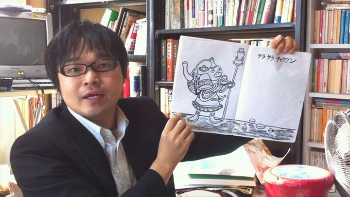 加藤さんは妖怪活動の一環として絵本の執筆も行い、すでに3冊出版している (C)綿毛