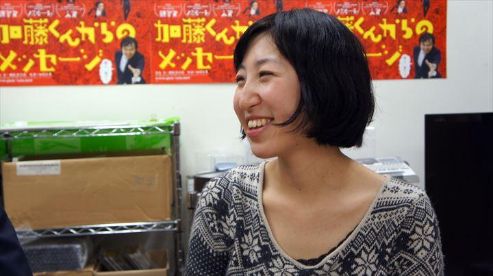 2年間、加藤さんの活動を追い続けてきた綿毛監督