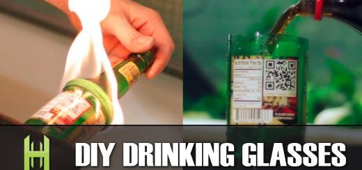 ワイルドだけどお洒落!ビールの空き瓶を、一瞬でガラスコップに変える方法