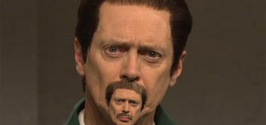 髭面ナイスガイの口元にナイスガイをもう一人配置するという、謎の妄想を写真で再現