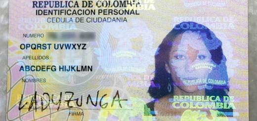 コロンビアで「ABCDEFG HIJKLMN OPQRST UVWXYZ」に改名する人現る!これぞ究極のDQNネーム!?