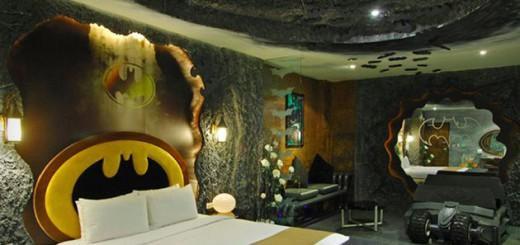 『バットマン』をテーマにした部屋がある!台湾のホテルがユニークだと話題