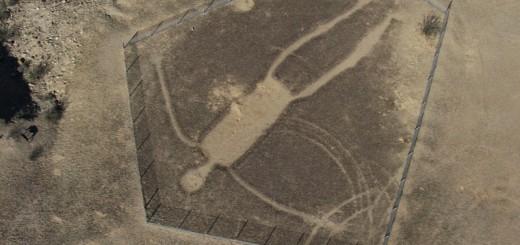 もしかして『ラピュタ』のロボット!?アメリカにある巨人の地上絵