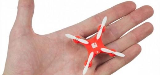 世界最小のドローンが発売!手のひらサイズなのに超優秀で、物欲を刺激しまくり