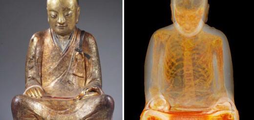 【衝撃的な発見】仏像をCTスキャン…中には即身仏化した僧侶のミイラが!