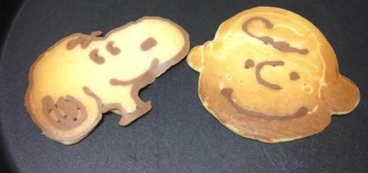 同じ材料だけで簡単に挑戦出来る!パンケーキアートが大流行の予感