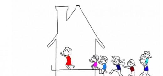 サザエさんED曲で登場する家はどうやって揺れている?解説動画がTwitterで話題