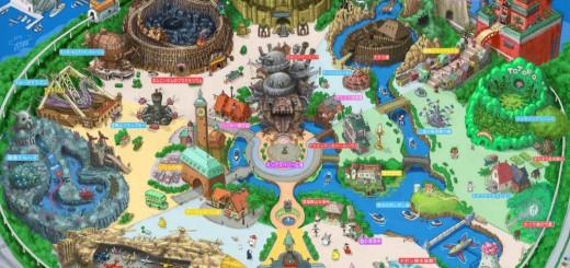 ジブリがテーマパークを開設!?イラストレーターが描いた妄想園内マップがワクワクする