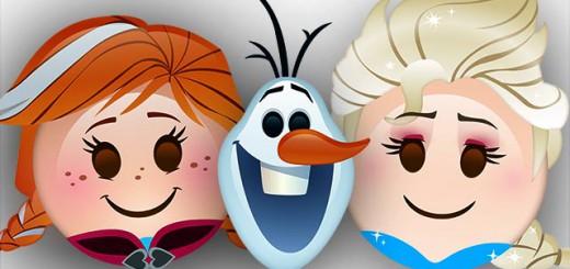 『アナと雪の女王』が絵文字でアニメ化!エルサやオラフの丸っこい動きがキュート