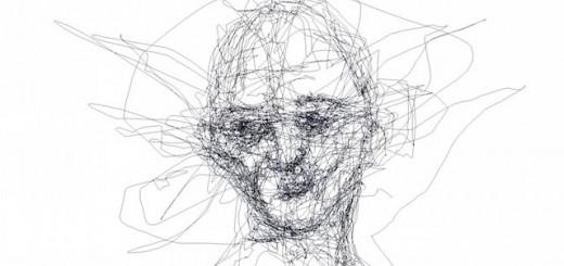 視線だけで絵が描ける!「アイトラッキング」機能で描いた芸術家の人物画が話題