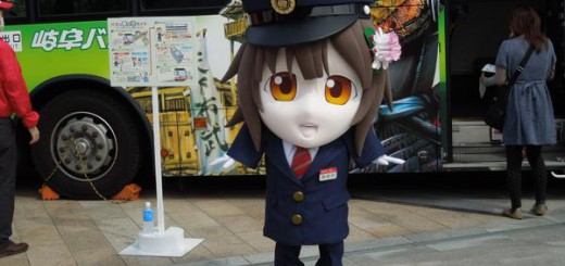 岐阜バス公式キャラクターあゆかちゃん、着ぐるみの縮尺がおかし過ぎてザワつく人続出