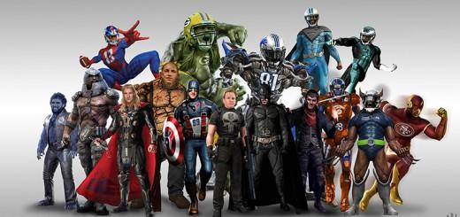 NFLのスター選手をアメコミヒーローにした結果…どの選手も超カッコイイ姿に変身!