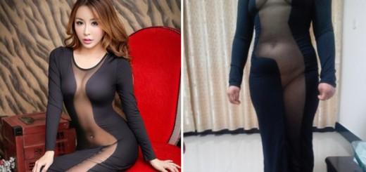 ハリウッド女優に憧れレプリカドレスを購入した中国人女性、体型の違いで大惨事が起こる