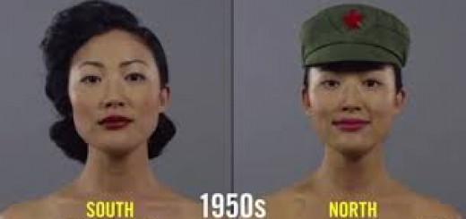 韓国と北朝鮮のメイクはこんなに違う!朝鮮半島100年間の、美の変遷を再現した動画