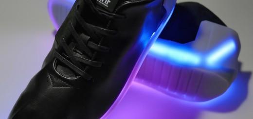 LED搭載のスニーカー「Orphe」が、未来感ハンパない!スマホとも連動