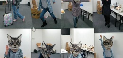 なんだこれ被ってみたい…羊毛フェルトで作られた「リアル猫ヘッド」が話題