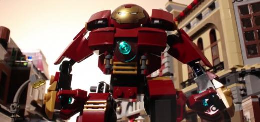 レゴで『アベンジャーズ』予告映像を完全再現!絶妙にカッコ良い