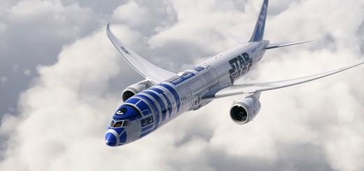 ANAと『スター・ウォーズ』のコラボ始動!秋にR2-D2特別塗装機が就航