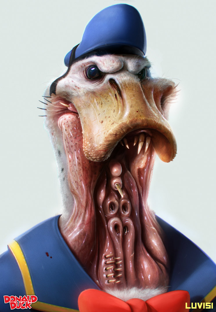 donald_the_duck___by_danluvisiart-d64bs16