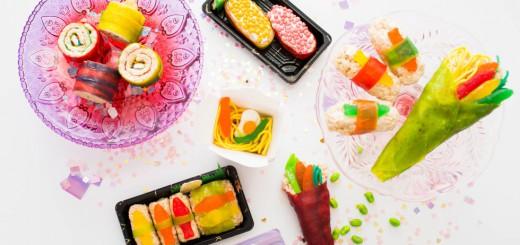 """全食材がお菓子の寿司""""CANDY SUSHI""""がアメリカで話題!レシピも公開中"""