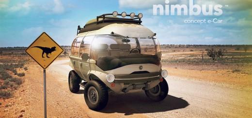 未来感がハンパない!超ハイブリッドなコンセプトカー「nimbus」