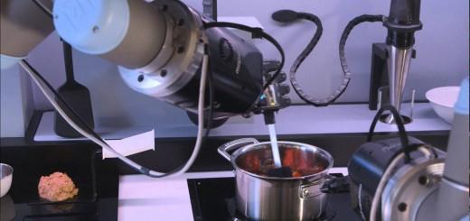 2017年に人類は料理から解放される!ロボットが自動で調理