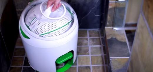 電源不要!5分で洗濯できる省スペース洗濯機「Yirego」