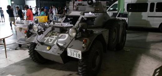 映画『パトレイバー』に登場したレイバー指揮車、ヤフオクに出品される