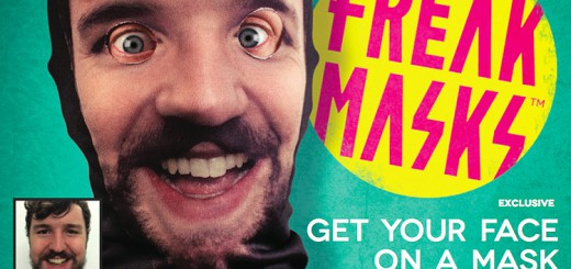 写真を送信すれば、どんな顔のマスクも作れる「Freak Masks」
