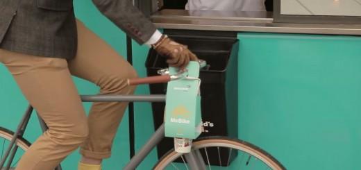 マクドナルドが自転車用のテイクアウトボックス導入へ