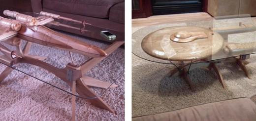 SF映画ファン感涙!?『スター・ウォーズ』と『スター・トレック』がモチーフのテーブル