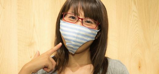 変態仮面の気分でウイルス対策!?パンティー型のマスクが発売