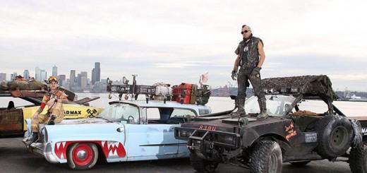 『マッドマックス』とUberがコラボ!魔改造されたタクシーに乗れるキャンペーン